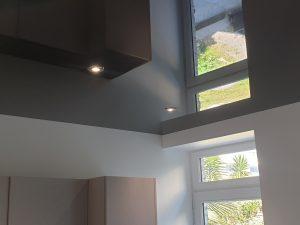 plafond tendu noir
